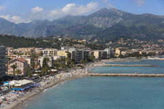 Cap Martin Resort - South of France Royalty Free Stock Images