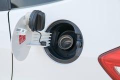 Cap oil tank cars Stock Images