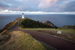 Cap Reinga, Nouvelle-Zélande de phare Image libre de droits