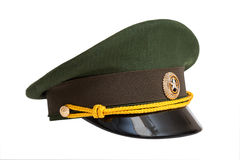 Cap of Russian army officer Royalty Free Stock Photography
