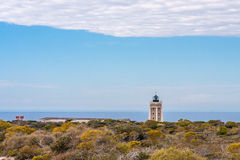 Cap Sainte Marie. The lighthouse of Cape Sainte Marie, the southernmost point of Madagascar Royalty Free Stock Photography