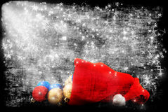 Cap of Santa Stock Photography