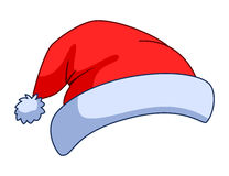 Cap of the Santa Claus Royalty Free Stock Image