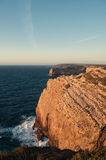 Cap Sao Vicente, Portugal. People watching sunset Stock Photo