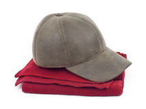 Cap and scarf Stock Images
