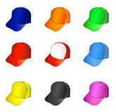 Cap set Royalty Free Stock Photo