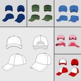 Cap set Royalty Free Stock Image