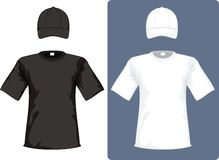 Cap and shirt royalty free stock photography
