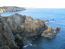 Cap Sizun in Brittany Royalty Free Stock Images