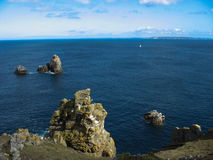 Cap Sizun in Brittany Royalty Free Stock Photography