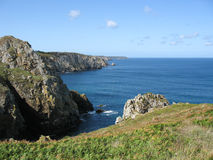 Cap Sizun in Brittany Royalty Free Stock Image