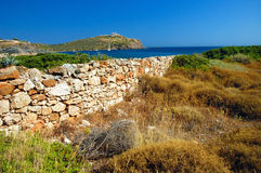 Cap Sounion Photo stock