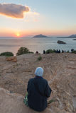 Cap Sounion photos libres de droits