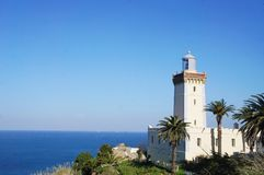 Cap Spartel de Tanger, Maroc image stock
