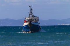 Cap St Francis d'océan de bateau de pêche Photo stock