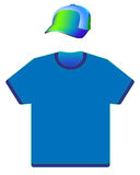 Cap and T-shirt Royalty Free Stock Image