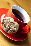 Cap of tea and cookies Stock Photography