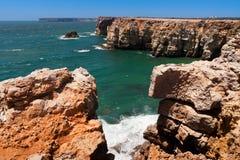 Cap Vincente au Portugal Image libre de droits