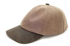 Cap on white Stock Photos
