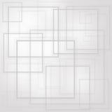 Capa abstracta de los cuadrados Imagen de archivo