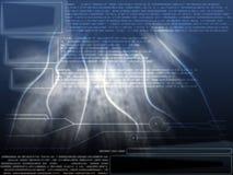 Capa abstracta del texto Fotografía de archivo libre de regalías