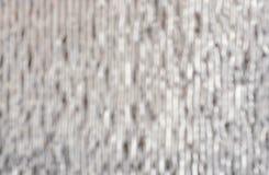 Capa brillante plateada de la pared, material de aislamiento de calor blur imagen de archivo libre de regalías