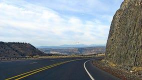 A capa da montagem do stratovolcano Fotografia de Stock Royalty Free