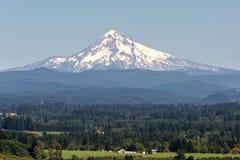Capa da montagem no verão em Portland Oregon imagem de stock