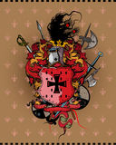 Capa de brazos Imagen de archivo libre de regalías