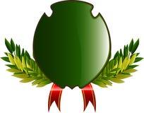 Capa de brazos con las hojas y la cinta Imagenes de archivo