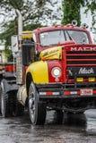 Capa de chuva do caminhão em América Central Costa Rica Imagem de Stock Royalty Free
