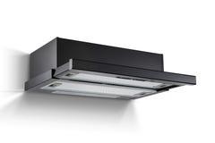 Capa de cozimento moderna, extrator da cozinha Imagem de Stock