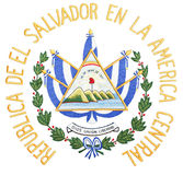 Capa de El Salvador de brazos Fotografía de archivo libre de regalías