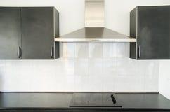 Capa de fogão na sala da cozinha Foto de Stock
