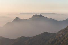 Capa de fondo de la montaña Foto de archivo