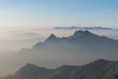 Capa de fondo de la montaña Fotografía de archivo libre de regalías