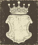 Capa de Grunge de brazos Imagen de archivo