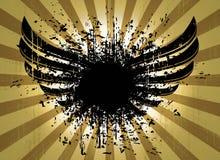 Capa de Grunge del zoom Imagen de archivo