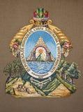 Capa de Honduras de brazos Imagenes de archivo