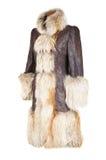 Capa de la hembra del invierno Imágenes de archivo libres de regalías