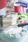 Capa de la torta foto de archivo libre de regalías