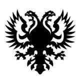 Capa de los brazos Albania Rusia Imagenes de archivo