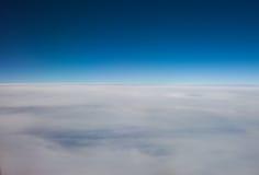 Capa de nube de cirroestrato de la mucha altitud Foto de archivo