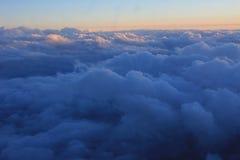Capa de nubes en el amanecer Fotografía de archivo libre de regalías