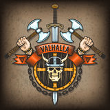 Capa de Valhalla Fotos de archivo