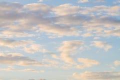 Capa del cielo fotografía de archivo