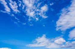 Capa del cielo azul Imagen de archivo
