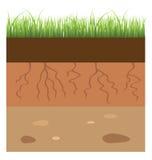 Capa del suelo ilustración del vector