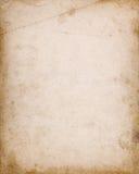 Capa do caderno com manchas e beiras escuras Imagens de Stock