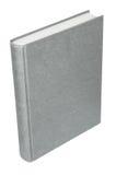 Capa do livro cinzenta Fotografia de Stock Royalty Free